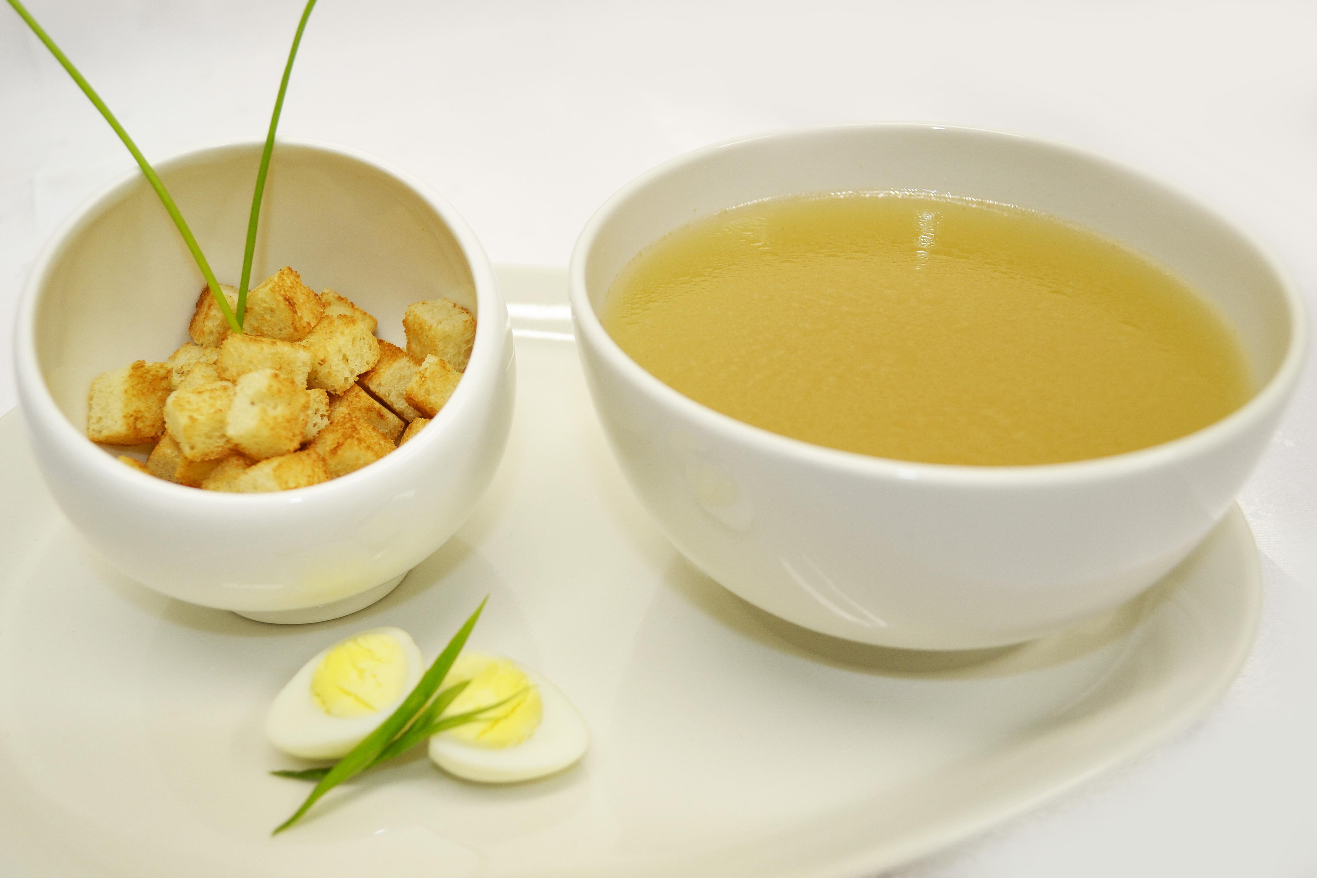 что можно приготовить на курином бульоне кроме супа