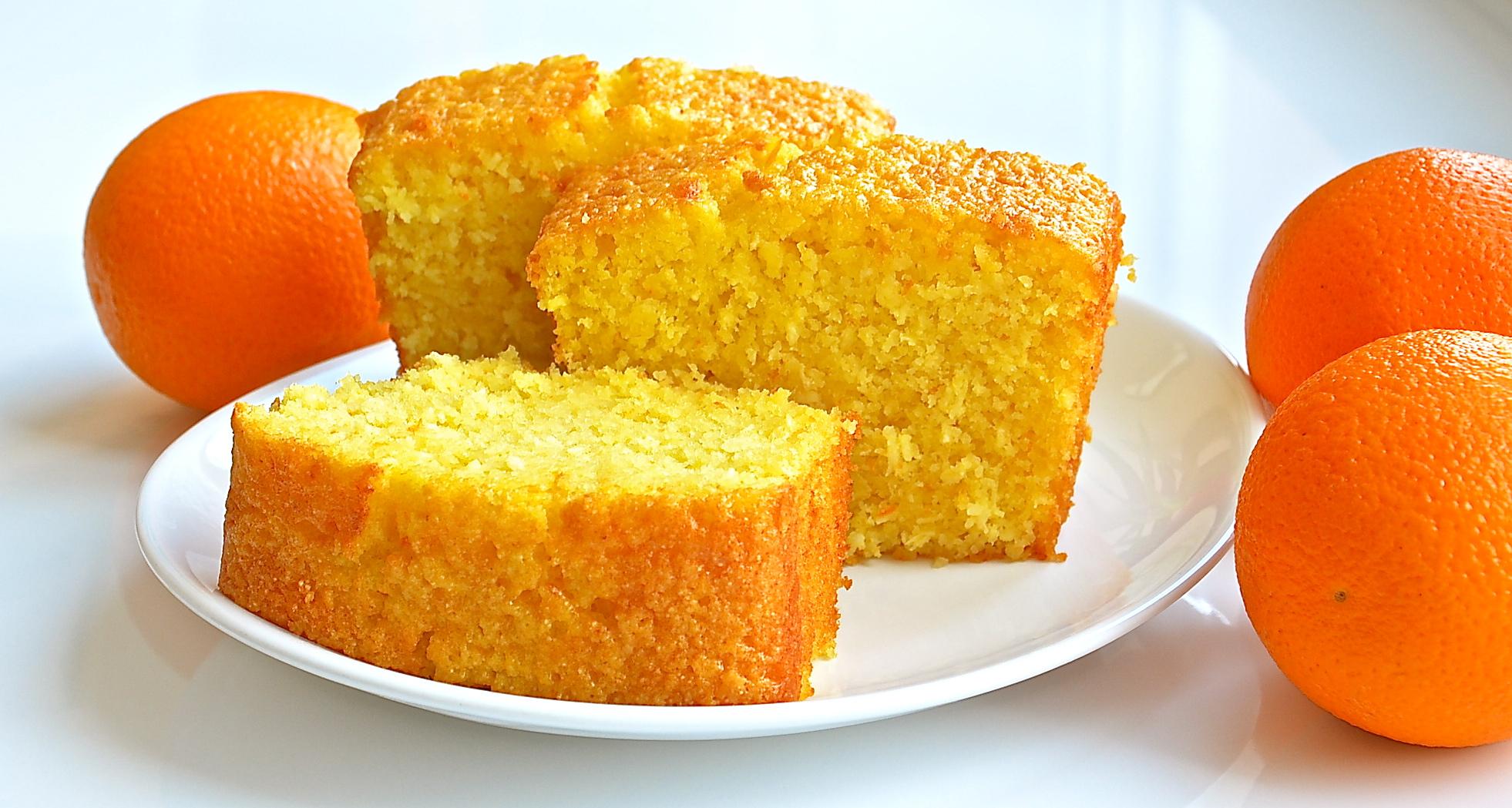 пирог с дольками апельсина торт фоторецепт