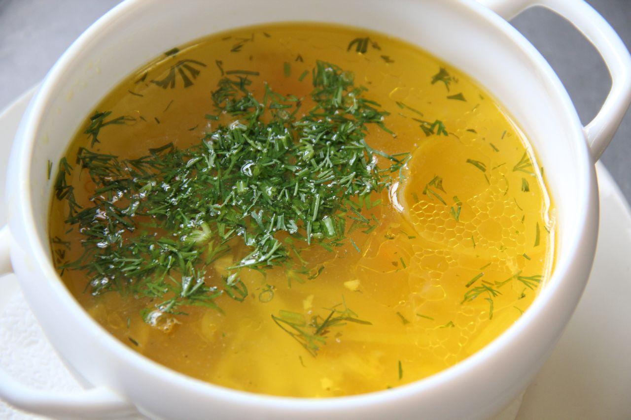 как приготовить суп с куриными косточками в мультиварке