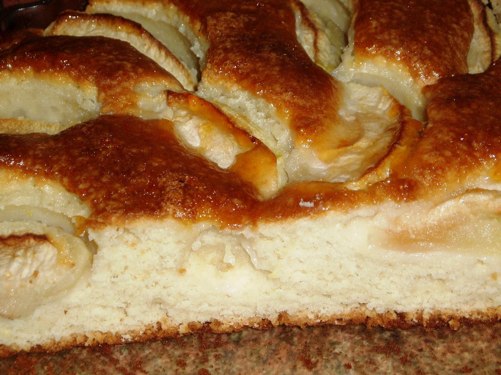 творожно яблочнвй пирог в мультиварке рецепт