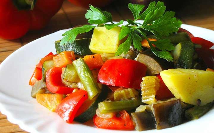 рагу овощное с фото