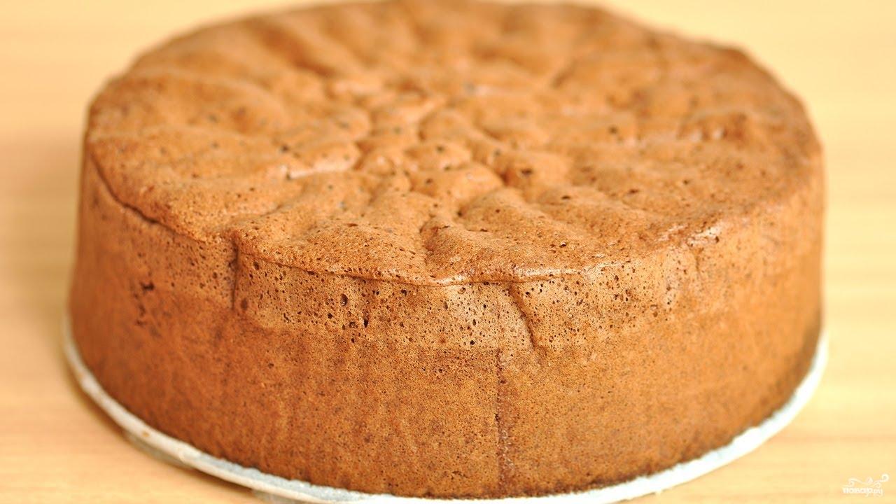 Рецепт бисквита в домашних условиях фото