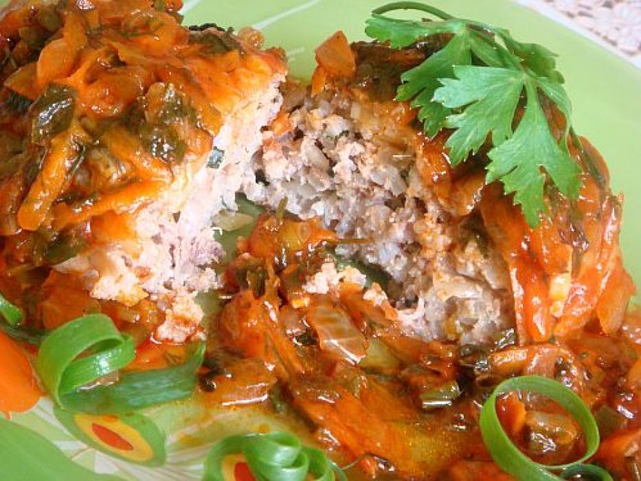 ленивые голубцы с гречкой рецепт с фото пошагово