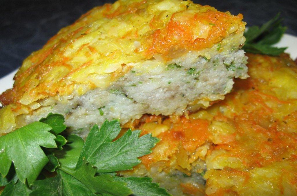 Рецепт запеканки рыбной с картофелем