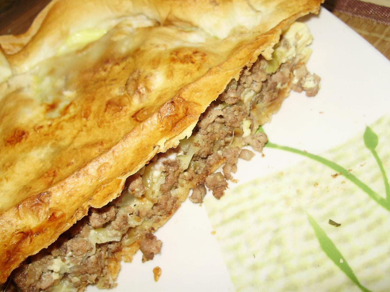 Пирог с мясом в мультиварке поларис рецепты с фото