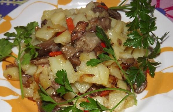 Мясо с картошкой в мультиварке скарлет рецепты с фото пошагово