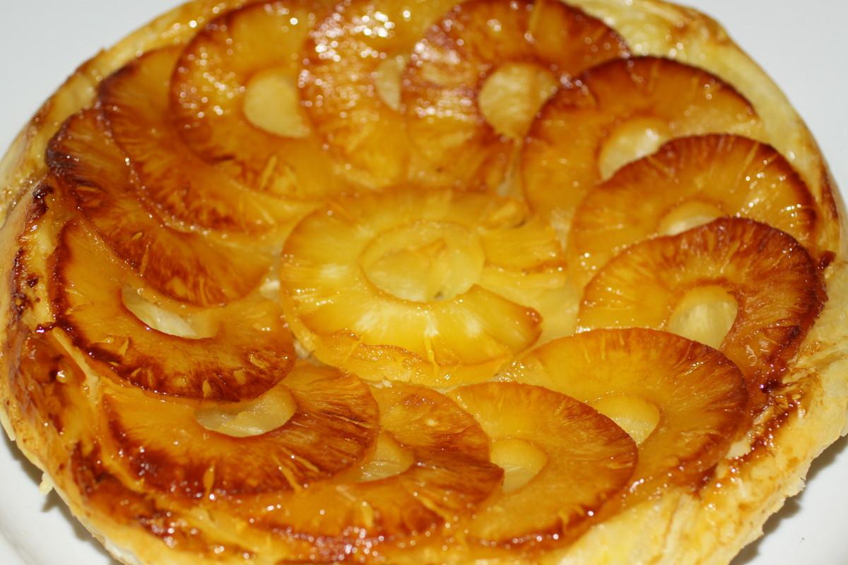 Пирог с ананасами рецепт с
