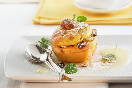 печеные яблоки в мультиварке редмонд рецепт с фото