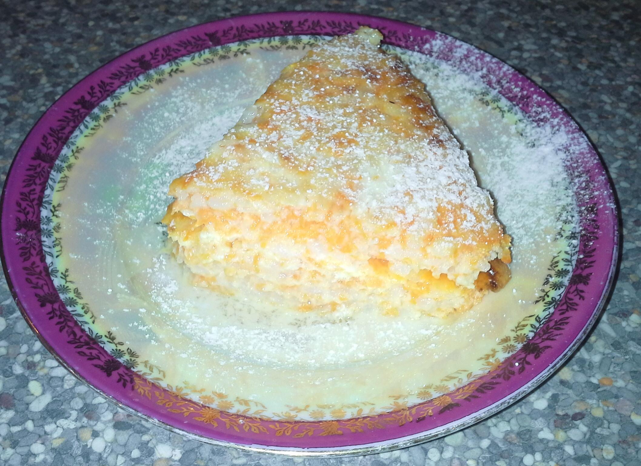 Пудинг из рисовой каши рецепт пошагово