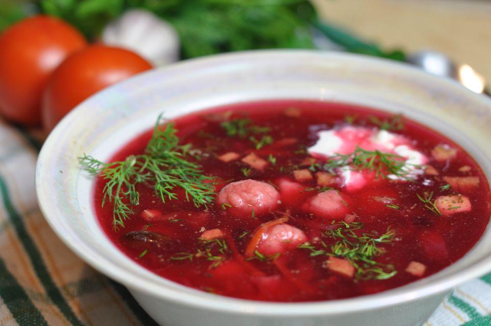 украинский борщ рецепт приготовления пошагово