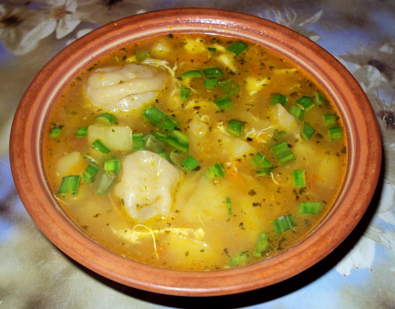 Суп из пельменей рецепт с фото 3