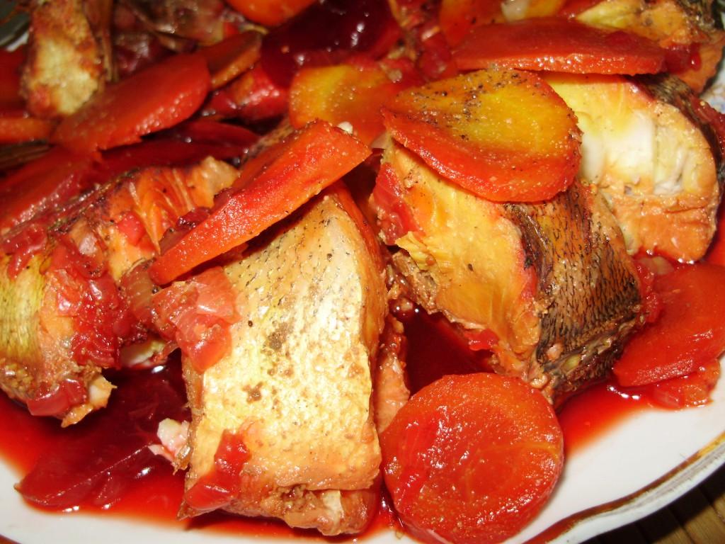 рецепт тушеной рыбы в мультиварке