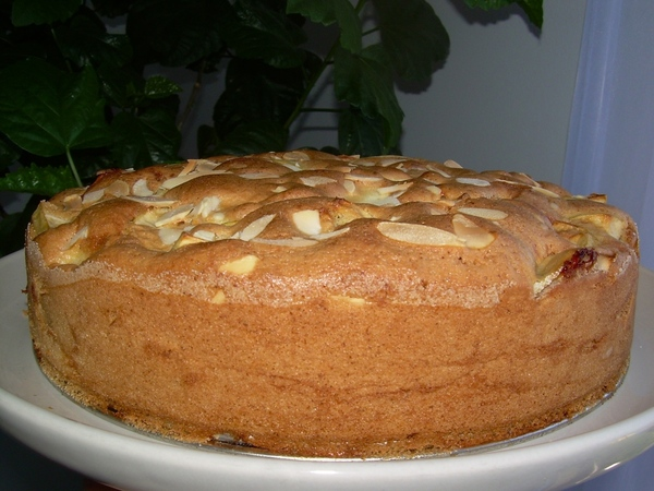 рецепты вкусного бисквит с яблоками в мультиварке