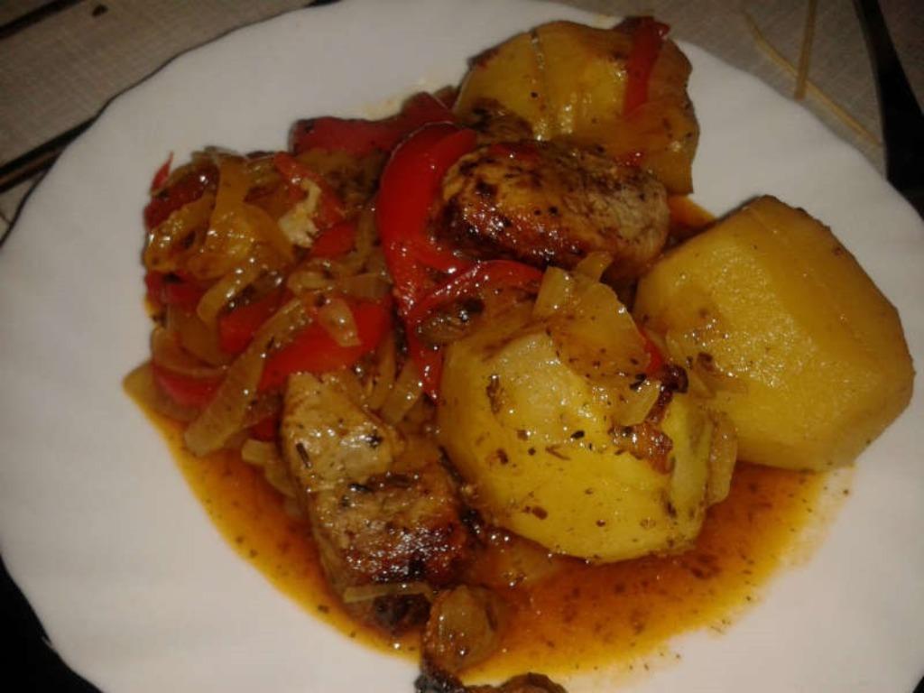 говядина в мультиварке с картошкой рецепты с фото