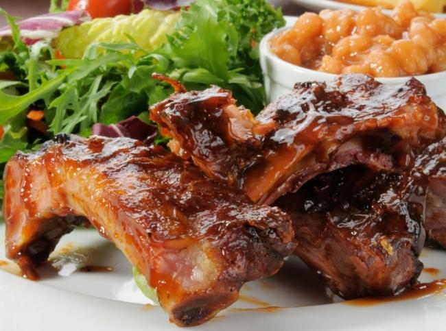 Свиные ребрышки в духовке - Вкусные рецепты