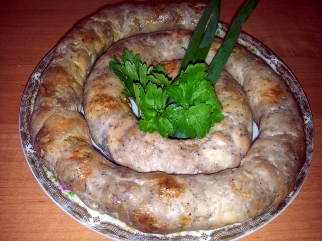 рецепты домашней колбасы с пшеном