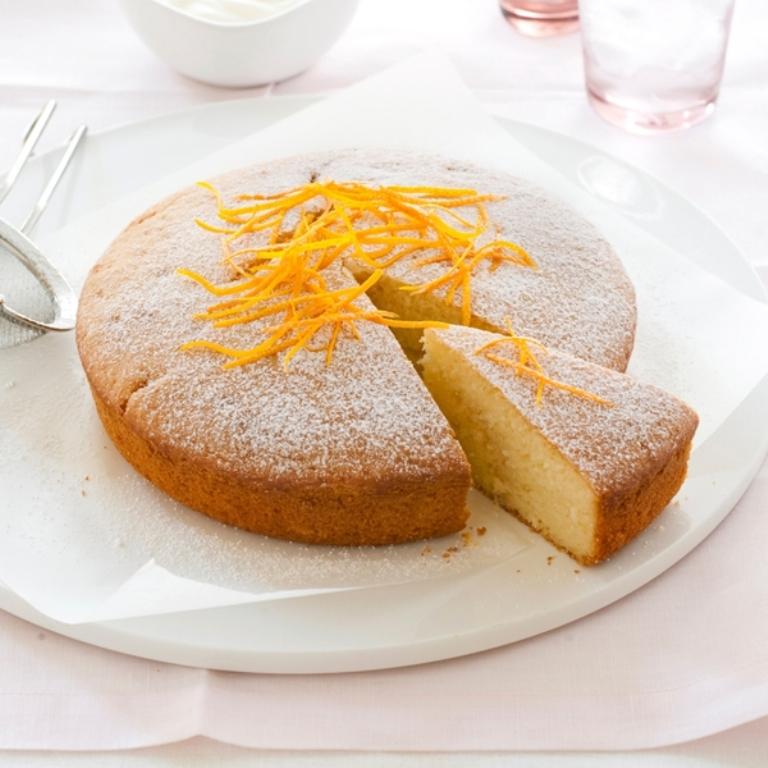 Как испечь лимонный кекс