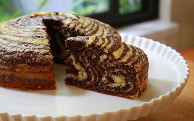 Творожный пирог зебра в мультиварке рецепт с фото