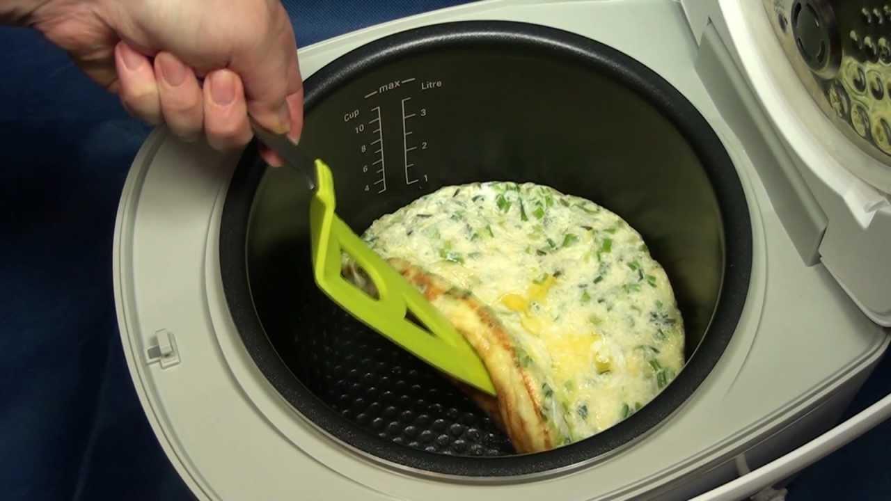 как приготовить омлет в пароварке с фото