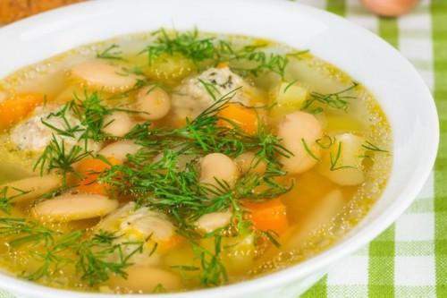 Фасоль суп рецепты с мясом