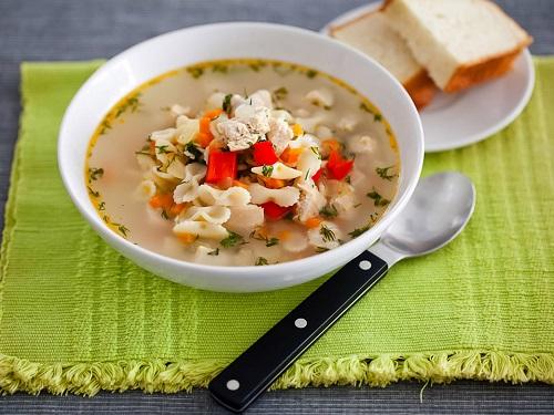 как приготовить вермишелевый суп в мультиваркемулинекс се4000