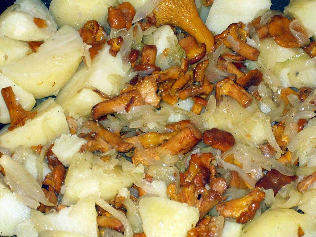 Лисички рецепты приготовления на второе пошагово