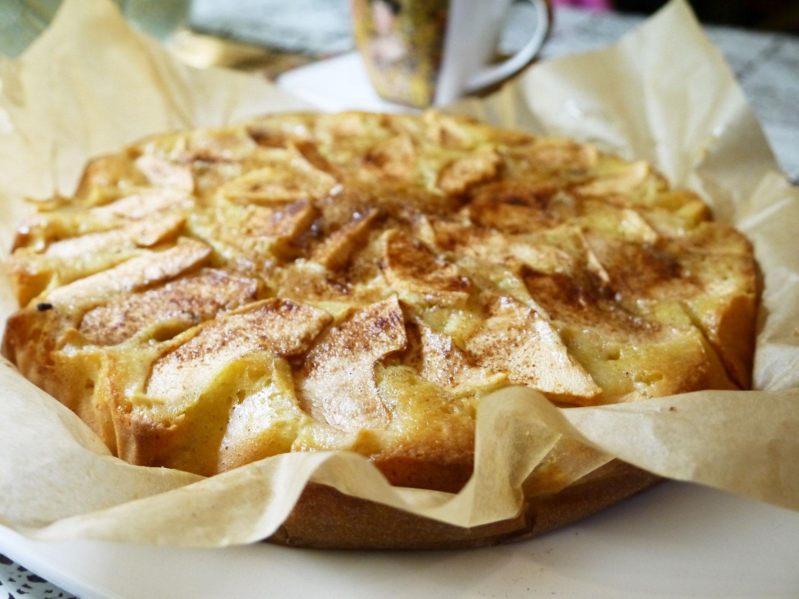 пирог с яблоками рецепт лучше чем шарлотка