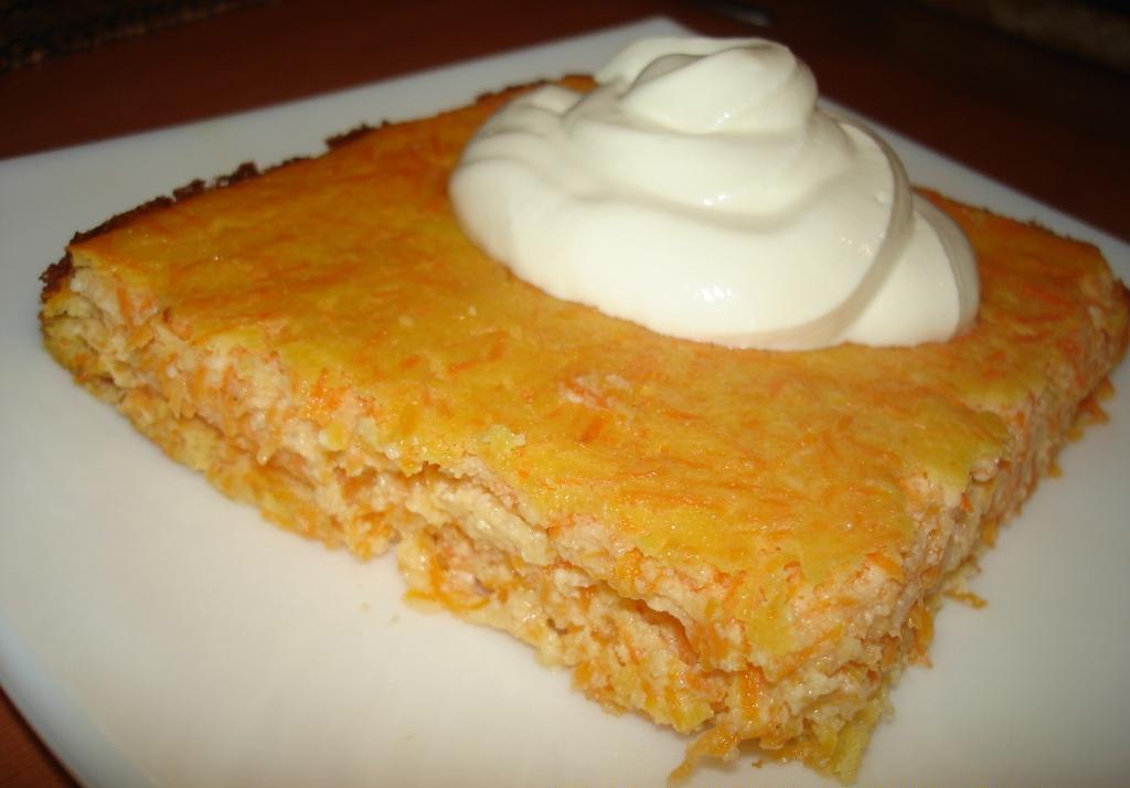 Запеканка с творогом и морковью рецепт с пошагово в