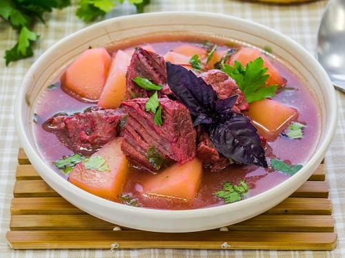 рецепт супа в мультиварке мулинекс