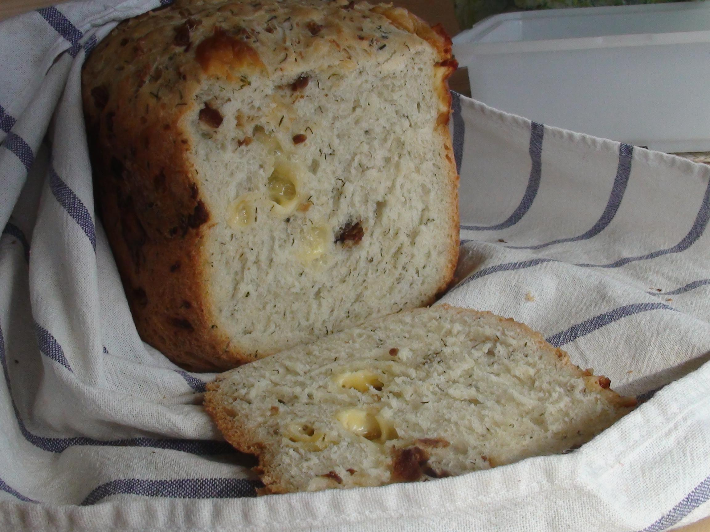 Хлеб с сыром рецепт в мультиварке