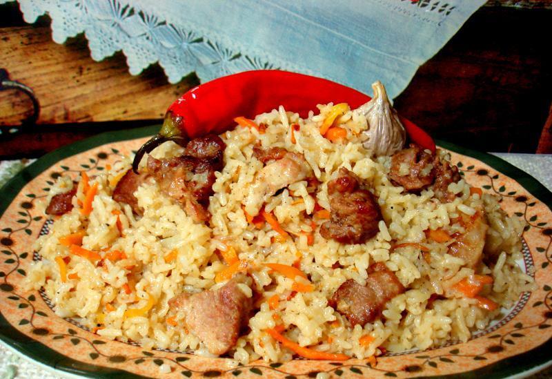 Плов в мультиварке со свининой рецепт с фото пошаговый