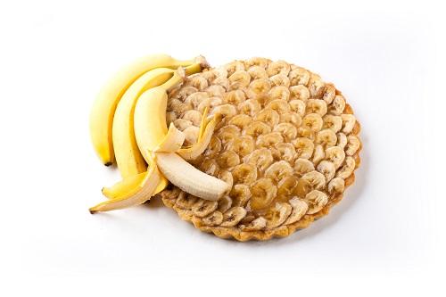 шарлотка в мультиварке рецепт с бананами