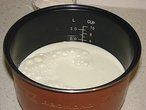 Йогурт в мультиварке рецепт