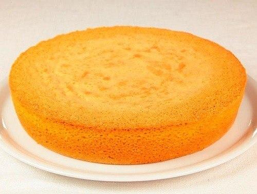 бисквит классический рецепт в мультиварке centek