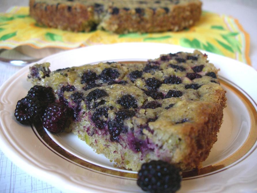 пирог с ежевикой рецепт с фото