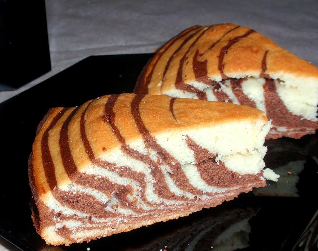 Как испечь торт зебра в домашних