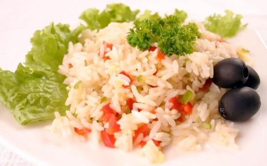 как вкусно приготовить пропаренный рис на гарнир