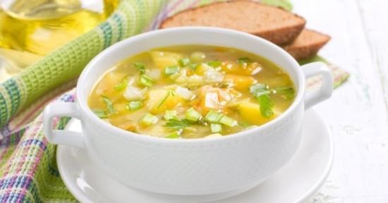 Суп в мультиварке постный