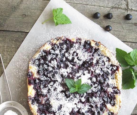 Пирог с черной смородиной рецепт с в мультиварке