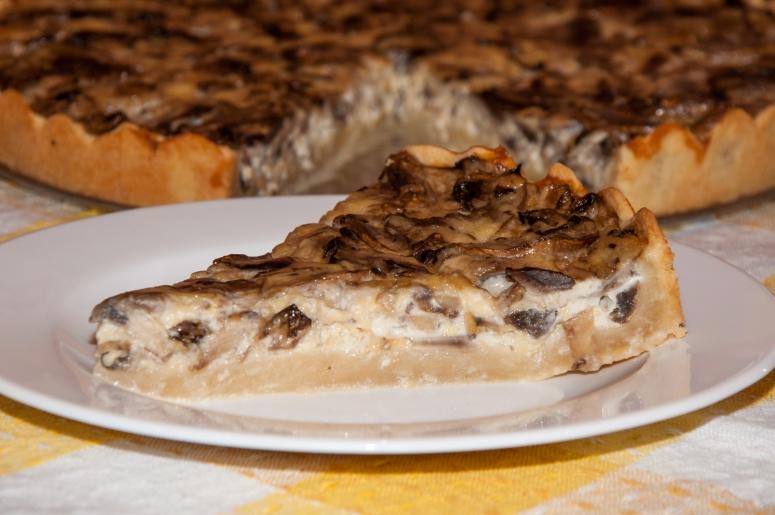 Пирог с грибами в мультиварке на скорую руку рецепты