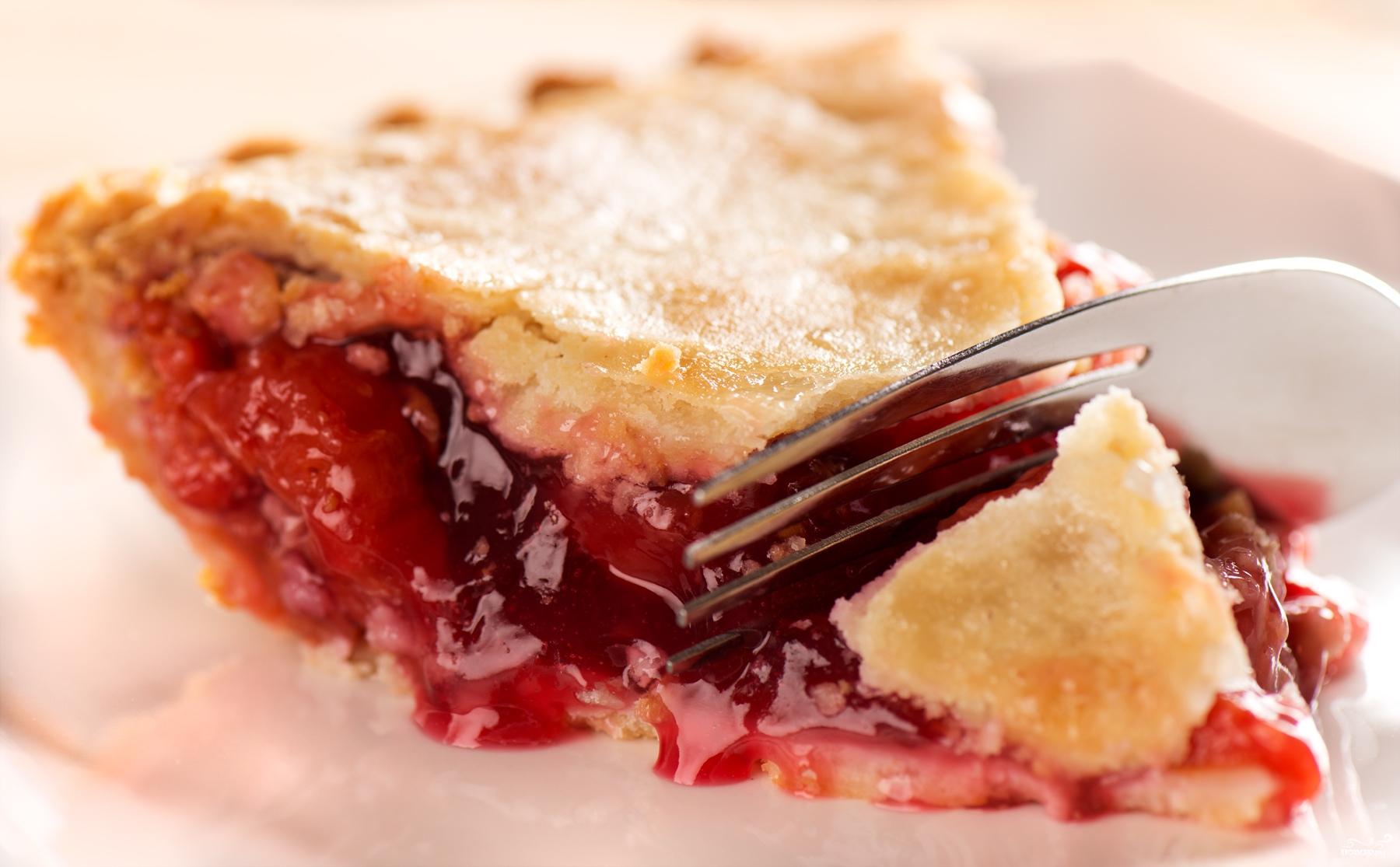 медовый вишневый пирог рецепт