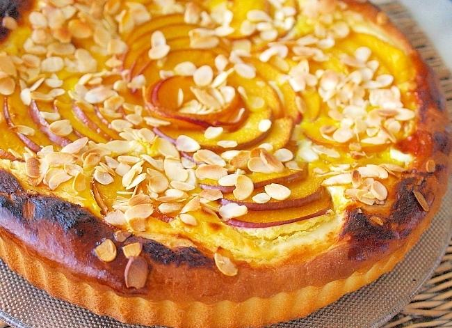 Пирог с творогом и персиками в мультиварке рецепты