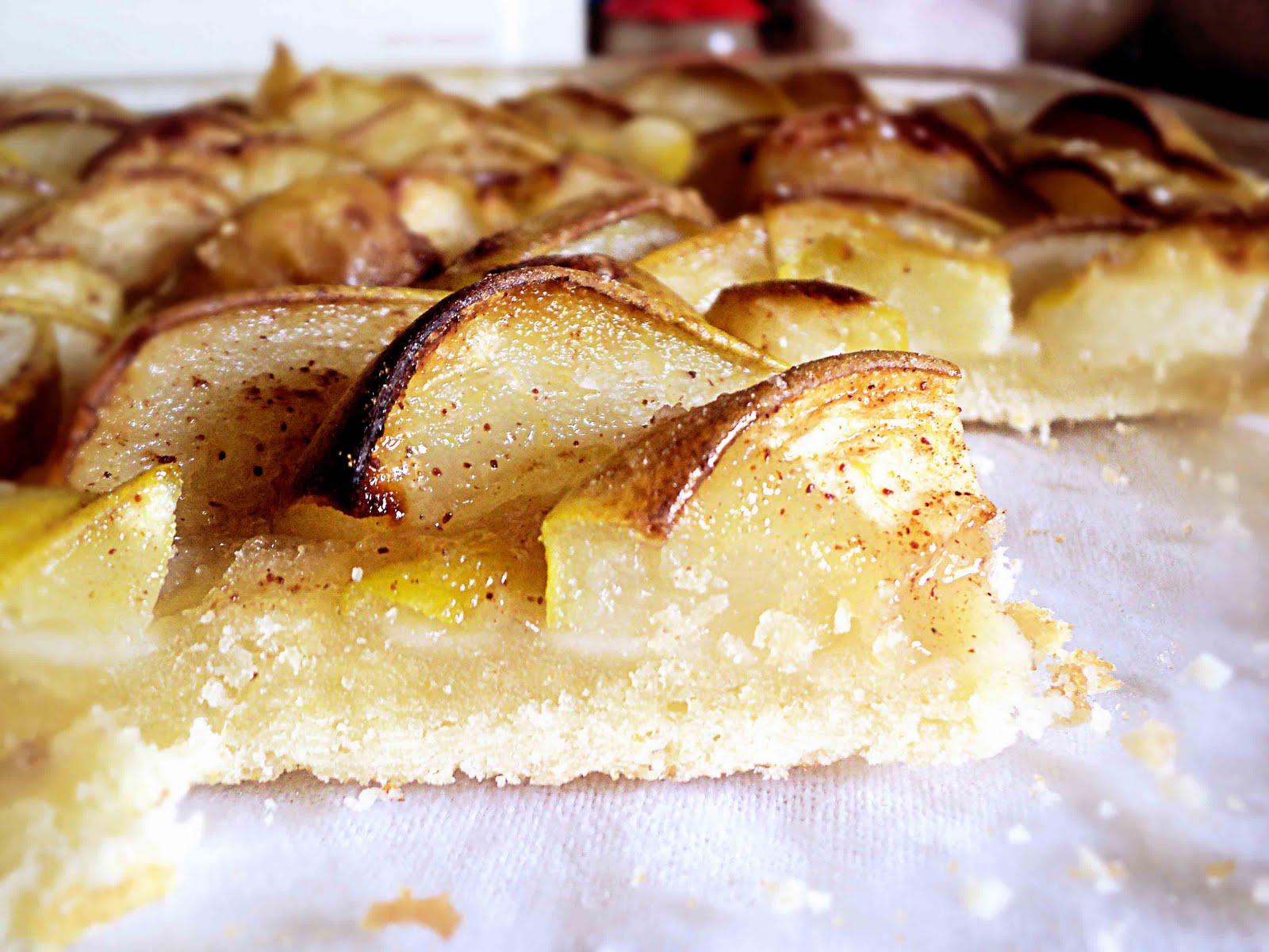 пирог с грушами с фото