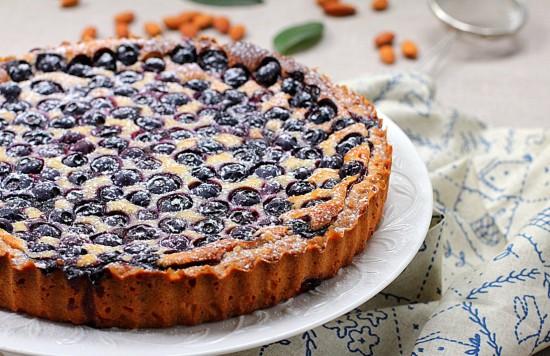 Песочный черничный пирог рецепт с 139