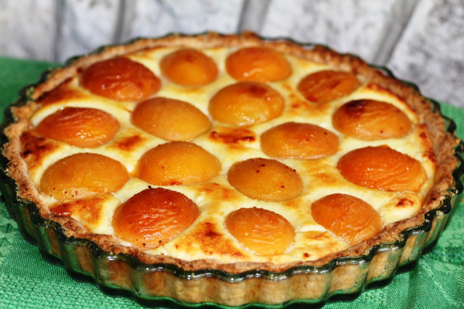 Пирог с абрикосами рецепт пошагово