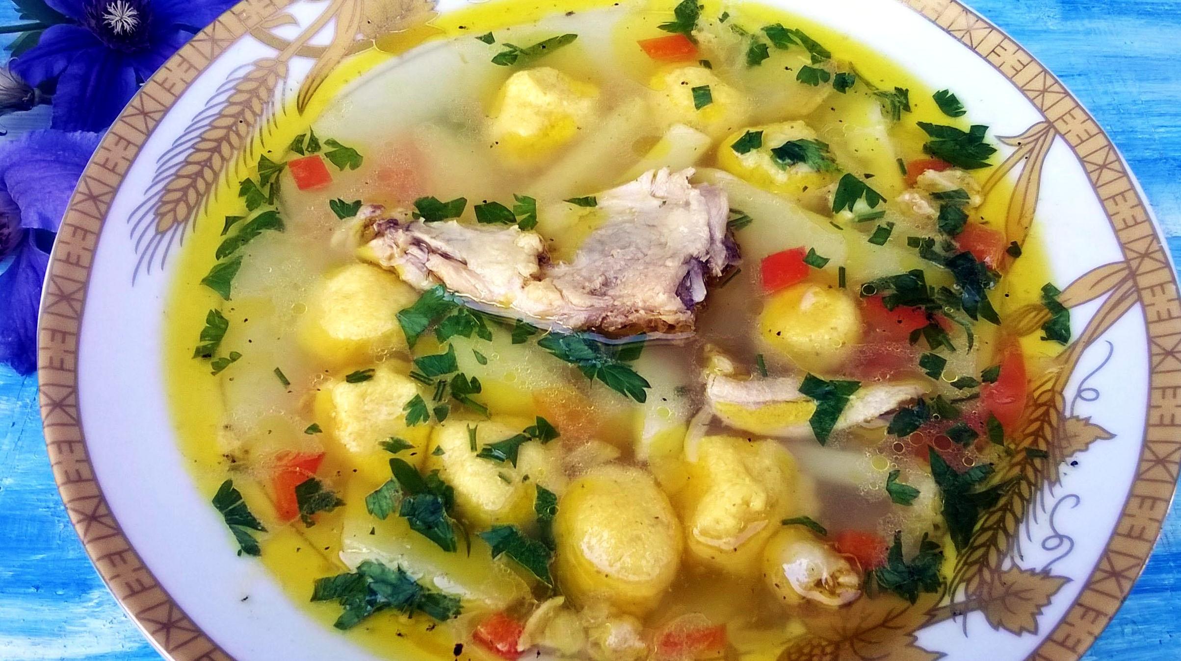 Быстрые и вкусные супы с клецками