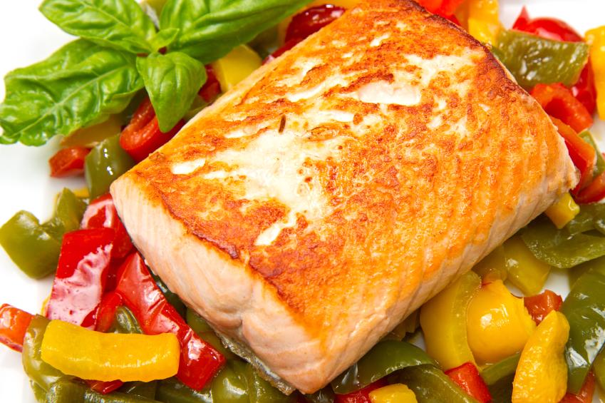 Запеченные овощи с рыбой в духовке рецепты 90