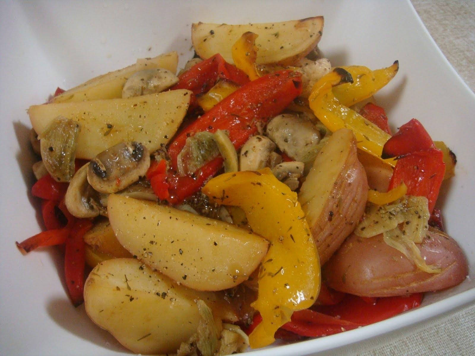 что можно приготовить из картошки и овощей