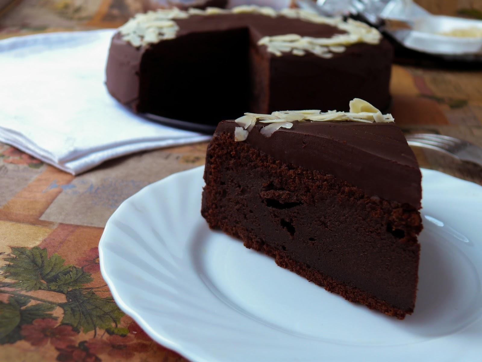 вкусный шоколадно-желейный десерт