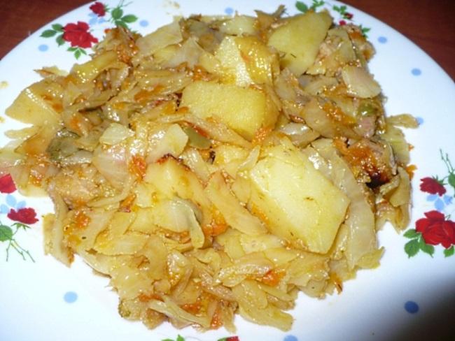 Картошка на сметане с фото пошагово